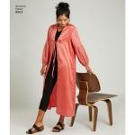 Naiste kimonod, suurused: A (XXS-XS-S-M-L-XL-XXL), Simplicity Pattern #8553