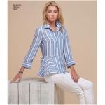 Women`s Shirts, Simplicity Pattern #8297