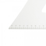 Valkoinen räätälin kolmioviivain 25 cm × 60 cm, #8560