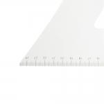 Metric Dressmakers Square Ruler, L-shape ruler, 25 cm × 60 cm, #8560