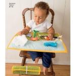 Väikelaste mängumatid, lastevankri aksessuaarid, ja pudipõlled, Simplicity Pattern #8110