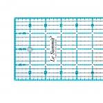 Tollmõõdustikus joonlaud, 4` x 14` Inch Scale Quilting Ruler with 1/8` grid, Le Summit 34414