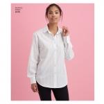 Naiste särk seljavariatsioonidega, Simplicity Pattern # 8416