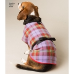 Dog Coats in Three Sizes: A (S-M-L), Simplicity Pattern #8538