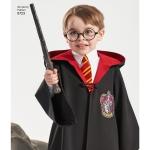 Harry Potter Unisex kostüümid, suurused: A (XS - L / XS - XL), Simplicity Pattern #8723