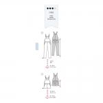 Sewing pattern Nr.32-44, Burda Style Nr.6599