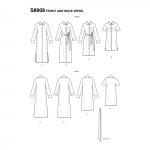 Naiste särkkleit, Simplicity Pattern #S8908