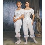 Women`s Civil War Undergarments, Simplicity Pattern #1139