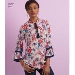 Naiste ja väikesekasvuliste Petite-naisteNaiste kleit või tuunika, Simplicity Pattern #8552