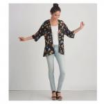Misses` Design Hacking kimono, Sizes: A (XXS-XS-S-M-L-XL-XXL), Simplicity Pattern #S8887