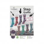 Пряжа Step для вязания носков с добавлением Алоэ Вера и жожоба, Austermann