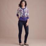 Naiste paeladega trikookardiganid, Simplicity Pattern #S8951