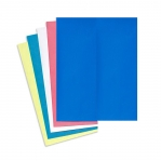 Washable carbon paper, Tracing Paper, 5 sheets (blue, yellow, red, green, white)