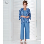 Naistele pluss-suuruses: Smart ja Casual riietus, Simplicity Pattern #4552
