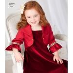 Laste vest, bolero ja kikilips, suurused: A (3-4-5-6-7-8), Simplicity Pattern #1509