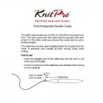 Kombineeritavate vardasüsteemide tamiilid ehk kaablid, KnitPro