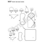 Beebitarvikud, suurused: OS (ÜkS SUURUS), Simplicity Pattern # 8537