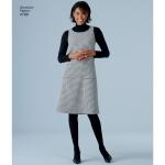 Naistele pluss-suuruses: Smart ja Casual riietus, Simplicity Pattern #4789