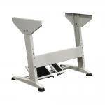 Vankkarakenteinen ompelukonepöydän jalusta, saumuripöytä, neulekonen ym pöydän jalusta