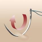 Curved Repair Needles, John James JJ60100