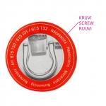 Metallist kotisangade kinnitusaasad, 4 tk, Prym