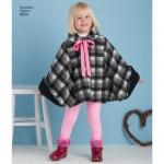 Child`s Poncho, Sizes: A (S-M-L), Simplicity Pattern #8524