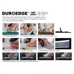 Aluminium Safety Ruler, inches (19`), Duroedge DR-195