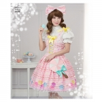 Naiste Lolita kostüüm, suurused: D5 (4-6-8-10-12), Simplicity Pattern # 8444