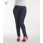 Misses` Mimi G Skinny Jeans, Simplicity Pattern #8516