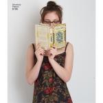 Naiste Dottie Angel Frock: hõlmik- ja Slip kleit, Simplicity Pattern #8186