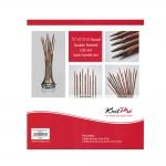 Symfonie Wood Double Pointed 20cm Sock Needle Set, KnitPro 20631
