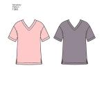 Women`s Men`s and Teens` Sleepwear, Sizes: A (XS-S-M-L-XL), Simplicity Pattern #1563