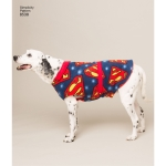 Kolmes suuruses koerariided, suurused: A (S-M-L), Simplicity Pattern # 8538