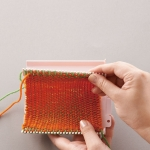 Weaving loom, knitters loom, weaving looms finished size 12 x 12(25) cm, Clover 3176, 3177