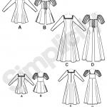 Naiste kostüüm, Simplicity Pattern #1773