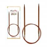 Wooden Circular Needles Ginger, KnitPro 120 cm