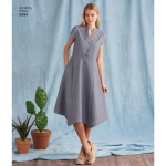 Women's Dress with Length Variations and Top, Simplicity Pattern #8384