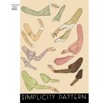 Naiste vintage komplekt varrukatest, suurused: A (10-12-14-16-18-20-22), Simplicity Pattern # 8695