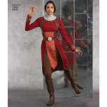 Misses knit Warrior Costumes, Simplicity Pattern #8825