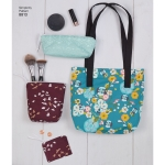 Bags & Small Accessories, Sizes: OS (ONE SIZE), Simplicity Pattern #8813