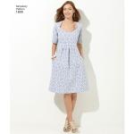 Naistele, ja pluss-suurusesnaistele Imeliselt Istuv: kleidid, Simplicity Pattern #1800