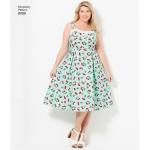 Imeliselt Istuv: pluss-suurustele kleidid, Simplicity Pattern #8096