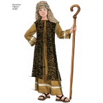 Boy & Girl Costumes, Sizes: A (S,M,L), Simplicity Pattern #4797