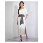 Naiste ja väikesekasvuliste Petite-naiste hõlmiklehviga kleit, Simplicity Pattern #S8871