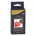 Heart shape stoppers, 2 pcs/set for Addi Click knitting needle systems, Addi 699-7