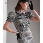 Vintage 1930`ndate kleidid, Simplicity Pattern #8248