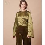 Women`s Blouses, Simplicity Pattern #8737