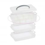Lisakorrus virnastatavale plastikust tarvikute kohverile (Milward 2519016), Milward 2519017