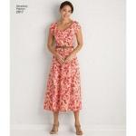 Naiste ja pluss-suuruses kleidid, Simplicity Pattern #2917