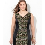 Naistele pluss-suuruses: Imeliselt Istuv: kleit, Simplicity Pattern #1586